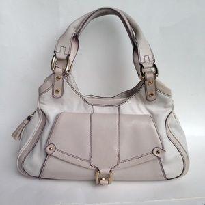 Cole Haan Leather Satchel Pocketbook Bag Purse